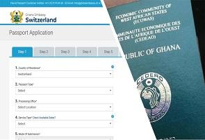 Ghana Passport Application