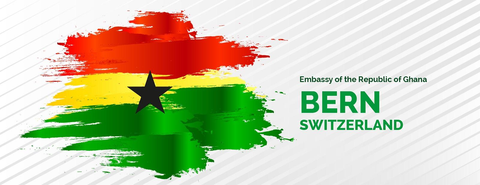 Ghana Embassy Bern poster 1